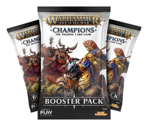 Warhammer Age of Sigmar: Champions - Booster Pack: Wave 1