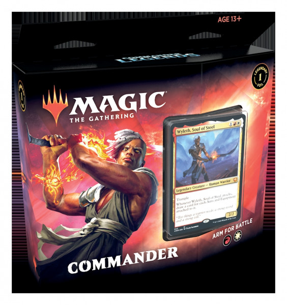 MTG Commander Legends Commander Deck