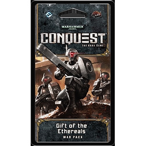Warhammer 40,000 Conquest: The Card Game - Warlord 3: Gift of the Ethereals War Pack