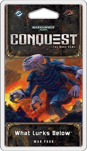 Warhammer 40,000 Conquest:The Card Game - Planetfall 4: What lurks below War Pack