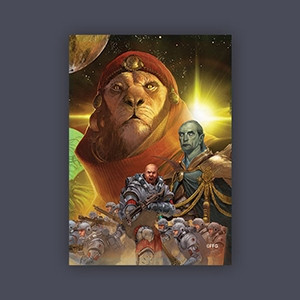 FFG - Sleeves: Hakan Lord - Standrad Card Game Size (63,5 x 88)