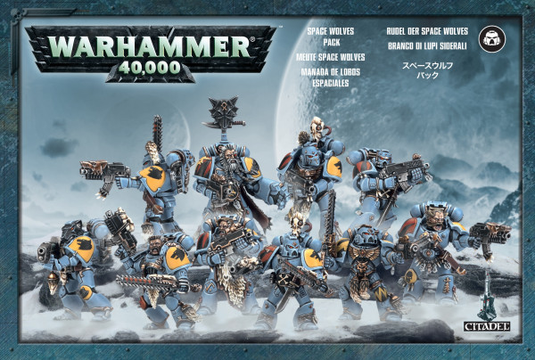 Warhammer 40,000 - Space Wolves Pack