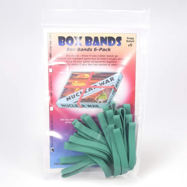 Box Bands 6-pack, Green