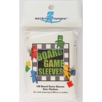 Board Game Card Sleeves - Medium 57x89 mm (100)