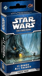 Star Wars: The Card Game - Echoes of the Force 5: It binds all Things Force Pack