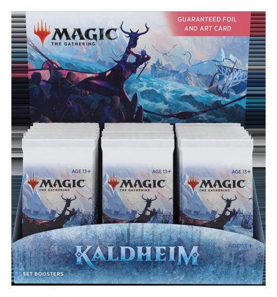 MTG - Set Booster Display: Kaldheim (de)