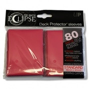 Deck Protector Sleeves - Pro-Matte Eclipse (80), pink