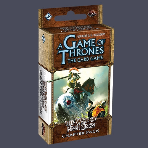 A Game of Thrones: The Card Game - A Clash of Arms 1: The War of Five Kings Chapter Pack