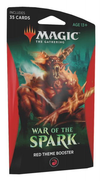 MTG - Theme Booster Pack: War of the Spark (red)