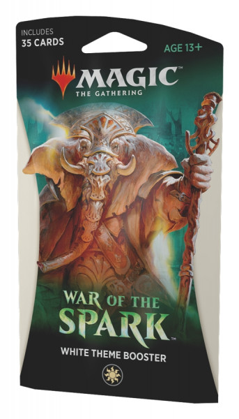 MTG - Theme Booster Pack: War of the Spark (white)