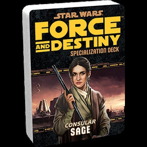 Star Wars: Force and Destiny - Specialization Deck: Sage