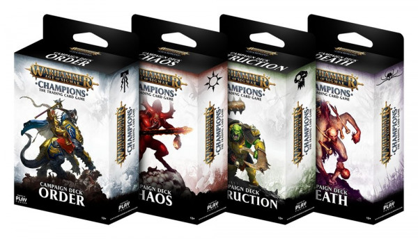 Warhammer Age of Sigmar: Champions - Campaign Deck: Order