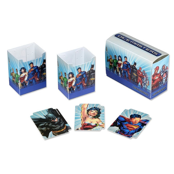 Dice Masters: DC - Magnetic Box: Justice League