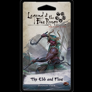Legend of the Five Rings: The Card Game - Elemental 4: The Ebb and Flow Dynasty Pack