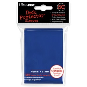 Solid Blue Protector (50)