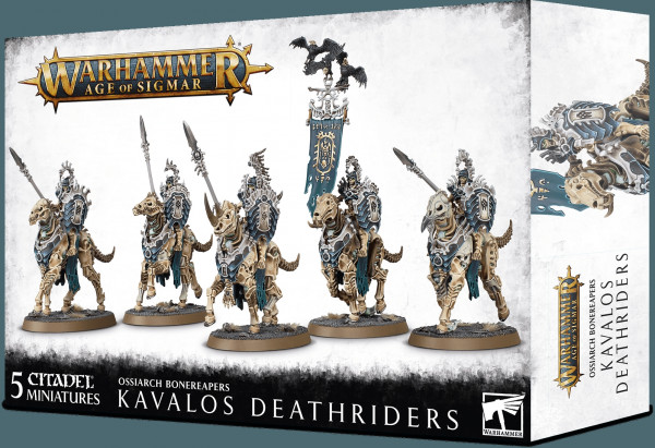 Warhammer: Age of Sigmar - Ossiarch Bonereapers: Kavalos Deathriders