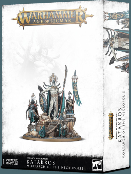 Warhammer: Age of Sigmar - Ossiarch Bonereapers: Katakros, Mortarch of the Necropolis