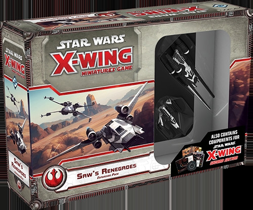 Star Wars: X-Wing - Expansion Pack: Saw's Renegades