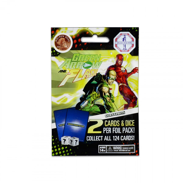 Dice Masters - Green Arrow and The Flash: Foil Pack (Booster)