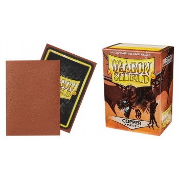 Dragon Shield - Card Sleeves: Copper Matte, Standard Size (100)