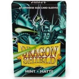 Dragon Shield - Card Sleeves: Mint Matte, japanese Size (60)
