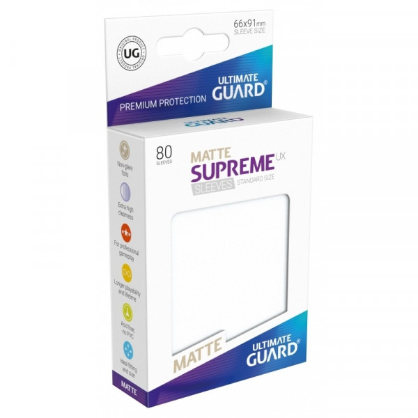 Supreme UX Sleeves - Matte Frosted