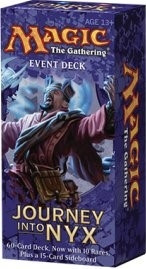 MTG - Event Deck, Journey into Nyx: Wrath of the Mortals (bluered)