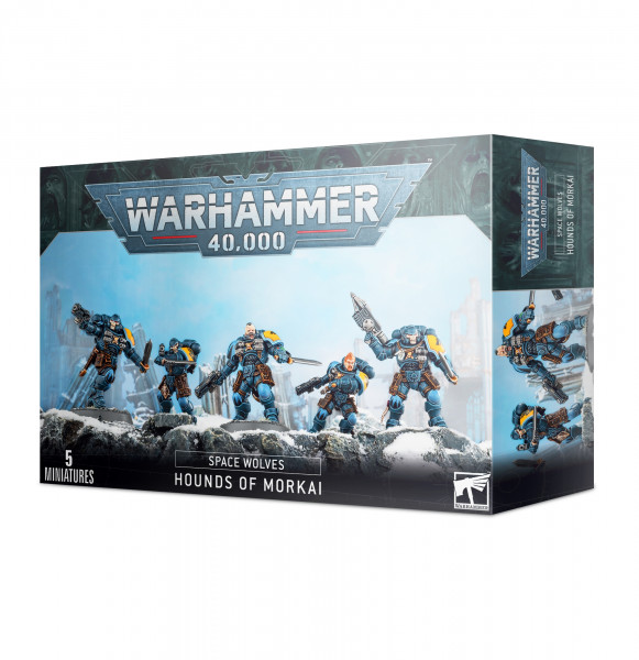 Warhammer 40,000 - Space Wolves: Hounds of Morkai