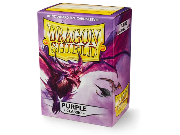 Dragon Shield - Card Sleeves: Classic Purple, Standard Size (100)