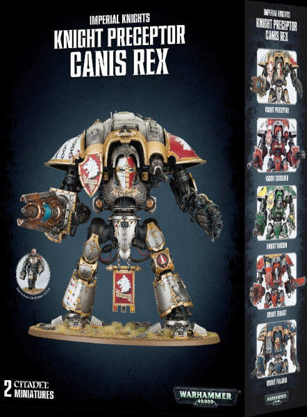 Warhammer 40,000 - Imperial Knights: Knight Preceptor Canis Rex