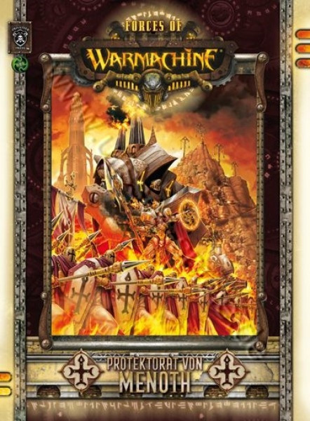 Forces of Warmachine: Protectorate of Menoth (Hardcover engl.)