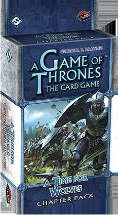 A Game of Thrones: The Card Game - Wardens Cycle 4: A Time For Wolves Chapter Pack