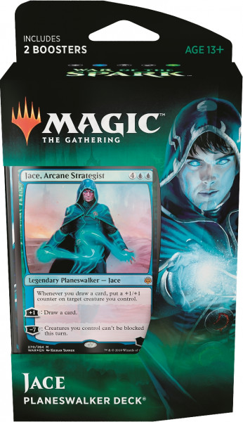 MTG - Planeswalker Deck, War of the Spark: Jace (bluegreen)