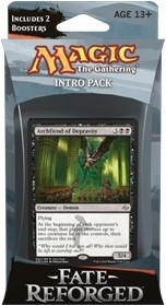 MTG - Intro Pack, Fate Reforged: Grave Advantage (blackgreen)