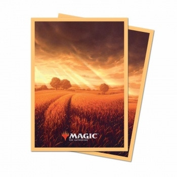 Deck Protector Sleeves - Magic the Gathering: Unstable Lands Plains (100)