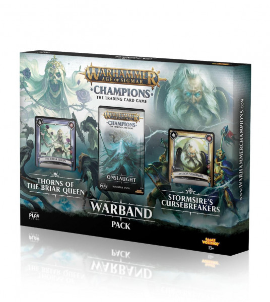 Warhammer Age of Sigmar: Champions - Warband Pack: Thorns of the Briar Queen/Stormsire's Cursebreake