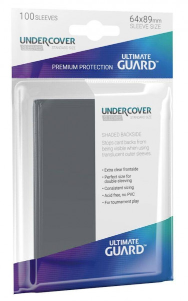 Ultimate Guard - Undercover Sleeves Standard Size (100)
