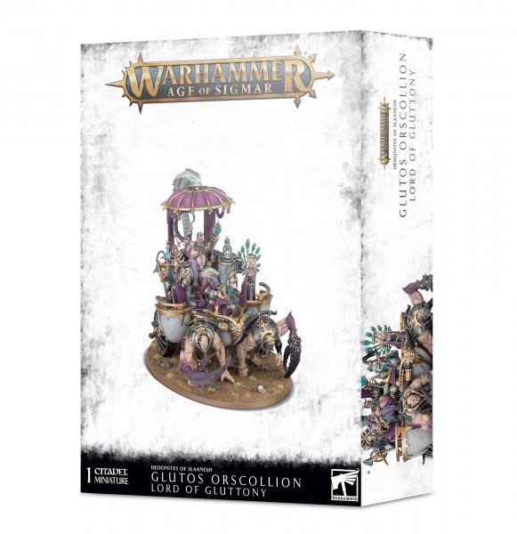 Warhammer: Age of Sigmar - Hedonites of Slaanesh: Glutos Orscollion, Lord of Gluttony
