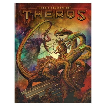 D&D RPG - Mythic Odysseys of Theros Alternate Art Cover