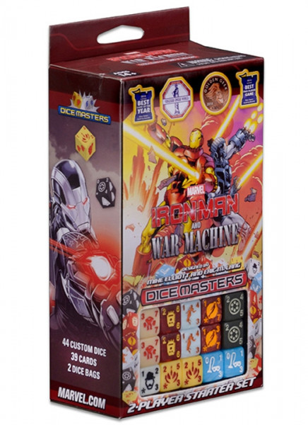 Dice Masters - 2-Player Starter Set: Marvel Iron Man and Warmachine
