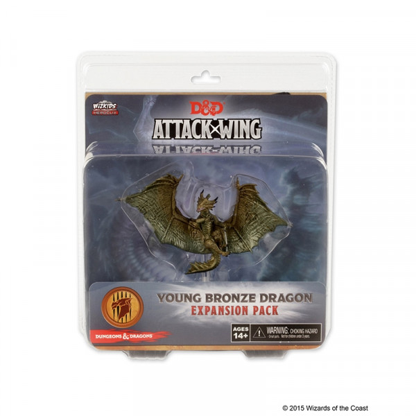 D&D Attack Wing - Young Bronze Dragon Expansion Pack