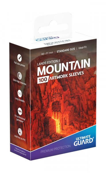 Ultimate Guard - Lands Edition II - Mountain (Sleeves)