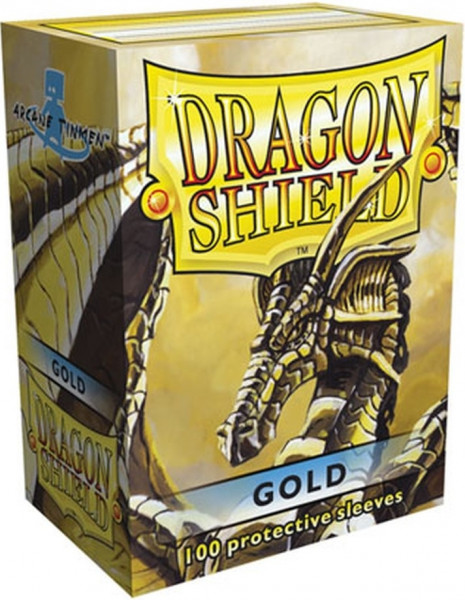 Dragon Shield - Card Sleeves: Classic Gold, Standard Size (100)