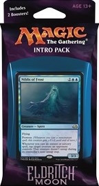 MTG - Intro Pack, Eldritch Moon: Dangerous Knowledge (bluered)