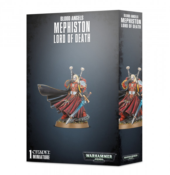 Warhammer 40,000 - Blood Angels: Mephiston Lord of Dead