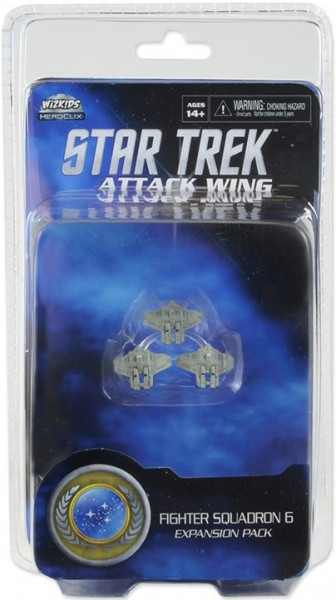 Star Trek Attack Wing - Fighter Squadron 6 Expansion Pack