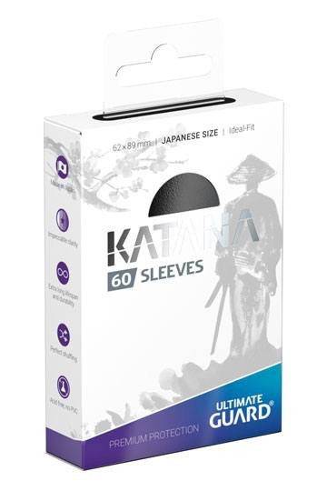 Katana Sleeves - Japanese Size, 62x89mm, Schwarz