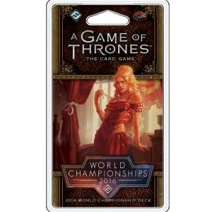 A Game of Thrones: The Card Game - World Championship Deck 2016