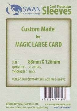 Card Protection Sleeves - 88x126mm, thick (50)