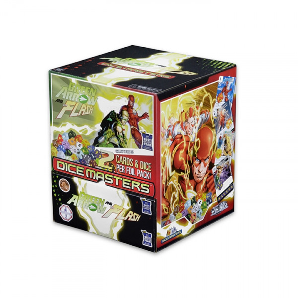 Dice Masters - Green Arrow and The Flash: Gravity Feed (90 Booster)